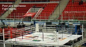 """Ринг """"Олимпийский"""" на помосте 8,1 х 8 х1 м по канатам 6,1 х 6,1 м ВЕРСИЯ AIBA"""