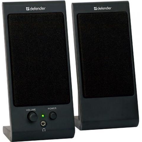 Акустическая система Defender SPK-170 2.0 USB Черная