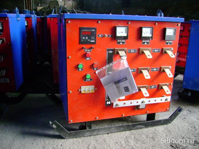 Трансформаторы для прогрева бетона