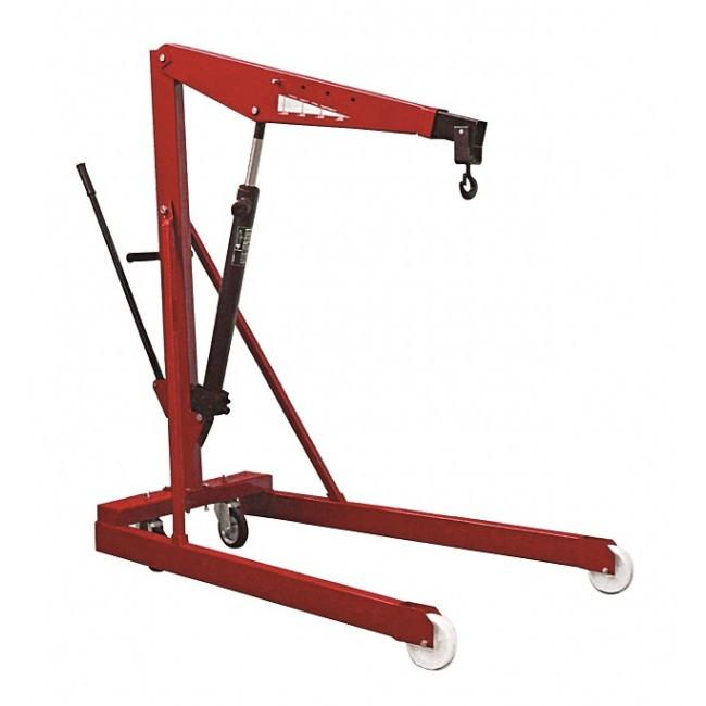Кран гидравлический Werther-OMA -576 (RAL 3002) красный