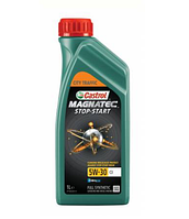 Моторное масло CASTROL MAGNATEC STOP-START 5W-30 1литр, фото 1