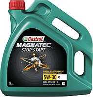 Моторное масло CASTROL MAGNATEC STOP-START 5W-30 4литра, фото 1