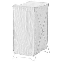 Корзина для белья ТОРКИС белый/серый ИКЕА, IKEA