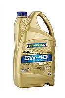 Моторное масло RAVENOL  VDL 5/40 DIZEL 4L, фото 1