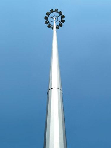 Высокий мачтовый столб 25 м (Осветительная мачта)