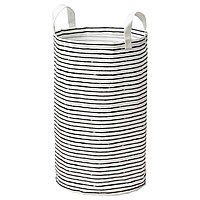 Мешок для белья КЛУНКА белый, черный ИКЕА, IKEA