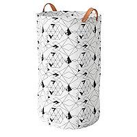 Мешок для белья ПЛУМСА белый, черный ИКЕА, IKEA