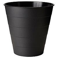 Мусорное ведро ФНИСС 10 л. черный ИКЕА, IKEA