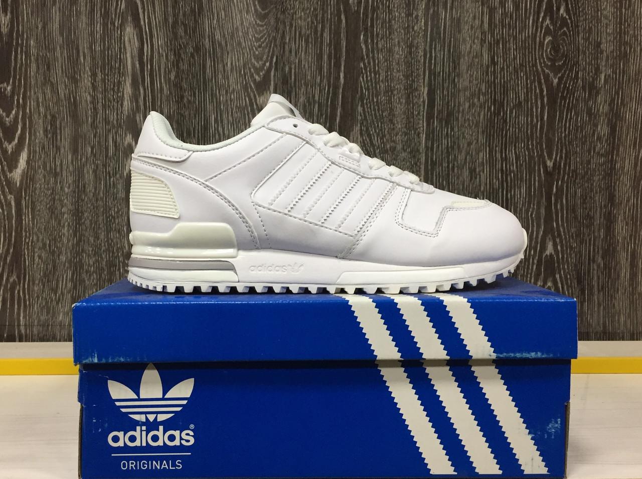 Кроссовки Adidas ZX 700 (White) - фото 1