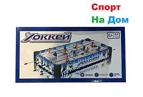 Настольный деревянный хоккей для дома (70х31х9 см), фото 2