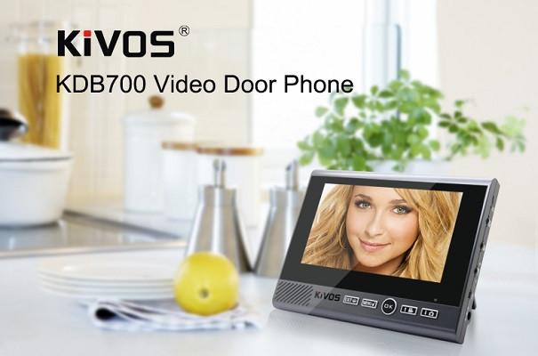 """Главной отличительной особенностью """"семисотой"""" модели в линейке видеодомофонов KIVOS является внутренний блок с большим дисплеем"""
