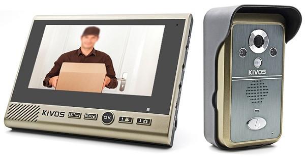 Данный беспроводной видеодомофон с большим дисплеем обладает оптимальным сочетанием цены и характеристик (нажмите на фото для увеличения)