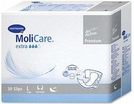 Подгузники для взрослых MoliCare Premium extra soft, L 30шт