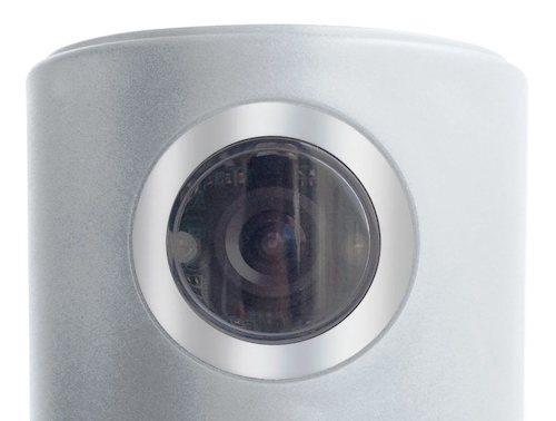 Видеокамера имеет угол обзора 120 градусов