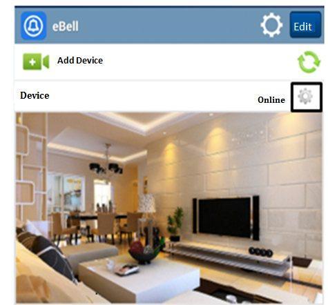 Скриншот приложения Idoorphone для Android и iOS