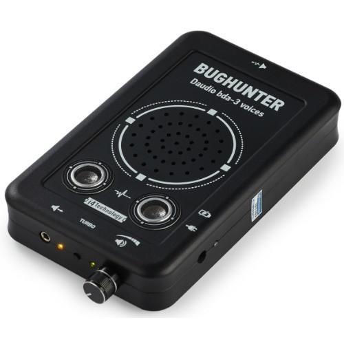 """Подавитель микрофонов, подслушивающих устройств и диктофонов """"BugHunter DAudio bda-3 Voices"""" с 7 УЗ-излучателями и акустическим глушителем"""