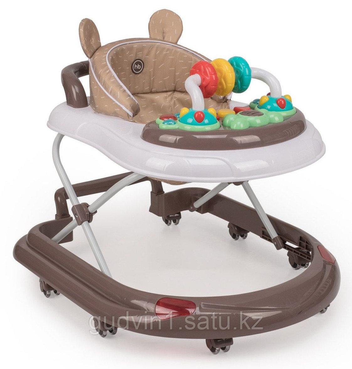 Ходунки Happy Baby Smiley V2 Brown 00-93950
