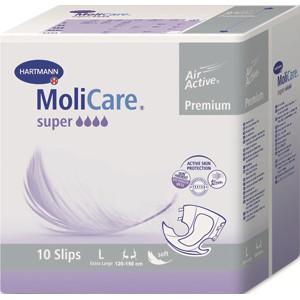 Подгузники для взрослых MoliCare Premium super soft, L 10 шт