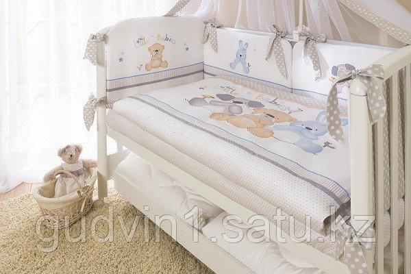 PERINA Комплект в кровать 4 предмета ВЕНЕЦИЯ Три друга бежевый