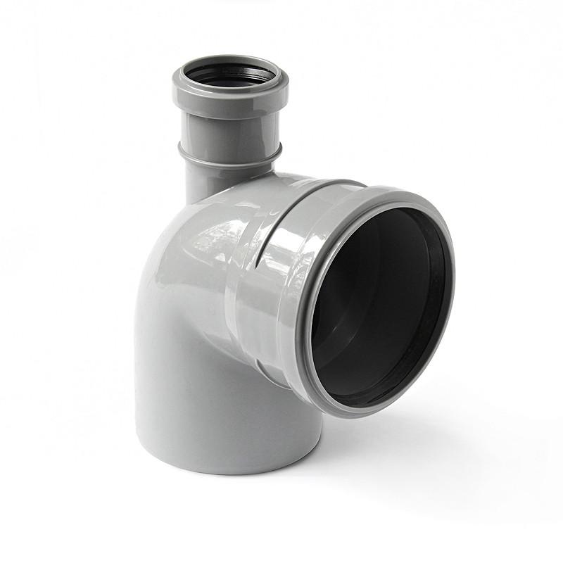 Канализационный отвод DENIZ, фронтальный 110*50*90 вых.вверх