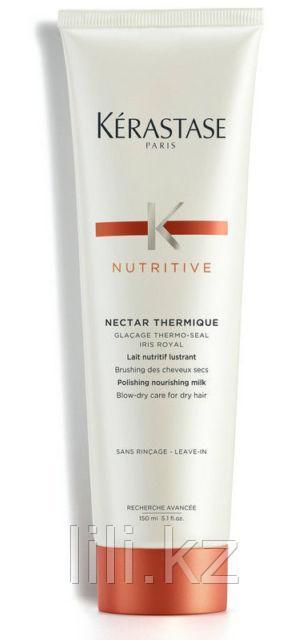 Термо-уход для всех типов сухих волос подвергающимся термоукладкам Kerastase Nutritive Nectar Thermique 150 мл