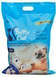 Betty Cat 10л, без аромата комкующийся наполнитель, 8кг