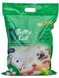 Betty Cat 10л, с ароматом яблока, Бетти Кэт комкующий наполнитель для кошачьего туалета, 8кг