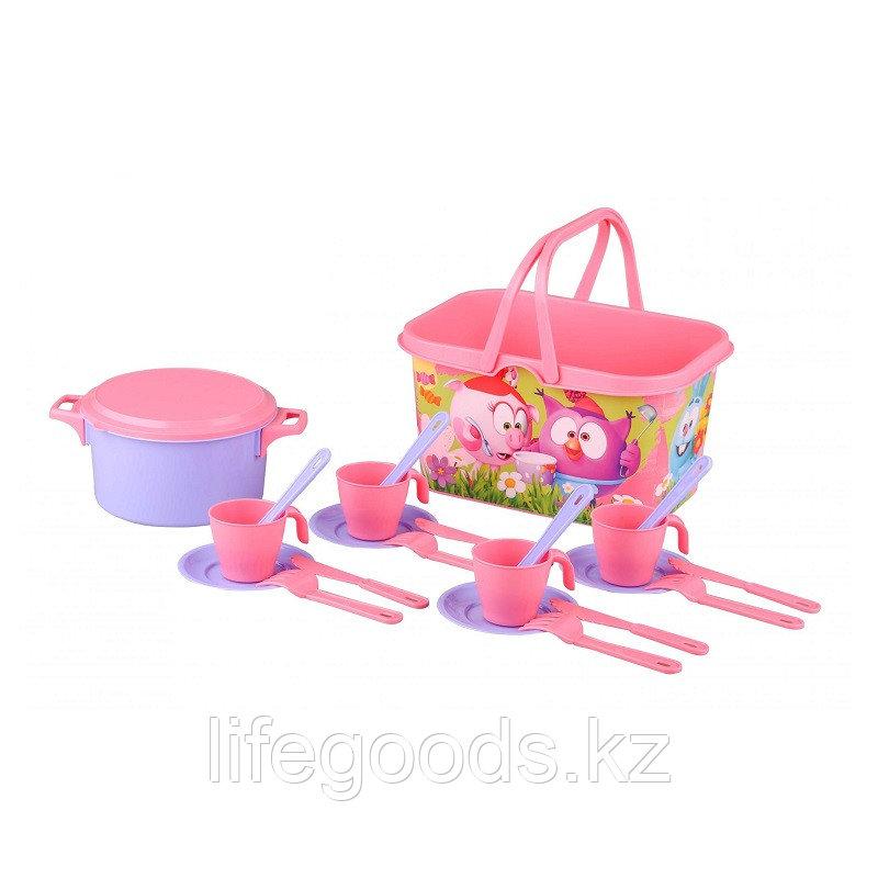 """Набор игрушечной посуды """"Смешарики"""" столовый, 4 персоны, М7199"""