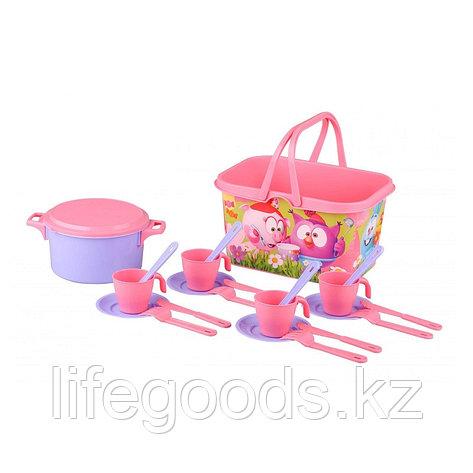 """Набор игрушечной посуды """"Смешарики"""" столовый, 4 персоны, М7199, фото 2"""