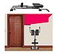 Гиперэкстензия складная для мышц cкамья для спины СВ-2626 до 110 кг., фото 5