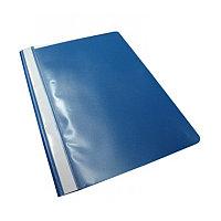 Скоросшиватель пластиковый A4, 140/160мкм, синий Foska