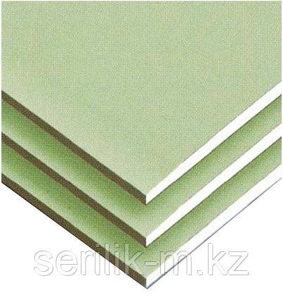 ГКЛ Кнауф влагостойкий 9,5 мм потолочный  (гипсокартон), фото 2