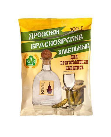 Дрожжи спиртовые Красноярские 100гр