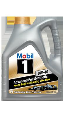 Моторное масло Mobil 0w40 4L