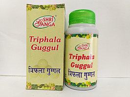 Трифала Гуггул Шри Ганга  (Triphala Guggul Shri Ganga), очищающий и омолаживающий эффект.
