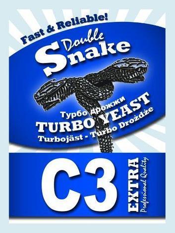 Дрожжи спиртовые турбо DoubleSnake C3 90гр