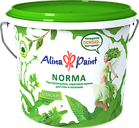 Акриловая протирающаяся краска Alina Paint Norma