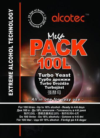 Турбо дрожжи Alcotec Mega Pack 360гр