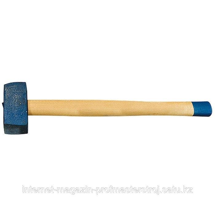 Кувалда, 4000 г, кованая головка, деревянная рукоятка (Труд), РОССИЯ