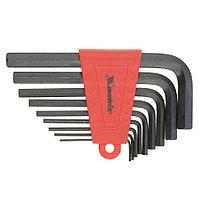 Набор ключей имбусовых HEX, 1,5–10 мм, CrV, 9 шт., MATRIX, фото 1
