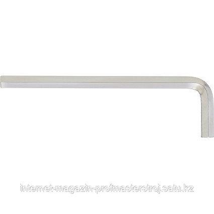 Ключ имбусовый HEX, 4 мм, 45X, закаленный, никель, СИБРТЕХ