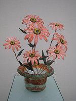 Декоративные цветы из стекла «Герберы»