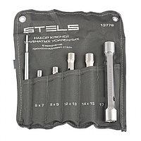 Набор ключей трубок торцевых усиленных 6 предметов, CrV, STELS