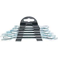 Набор ключей рожковых, 6 - 17 мм, 6 шт., хромированные, SPARTA