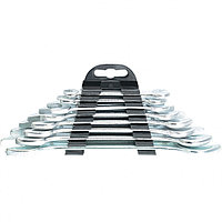 Набор ключей рожковых, 6 - 22 мм, 8 шт., хромированные, SPARTA