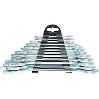 Набор ключей рожковых, 6 - 32 мм, 12 шт., хромированные, SPARTA