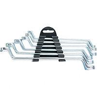 Набор ключей накидных, 6 - 17 мм, 6 шт., хромированные, SPARTA