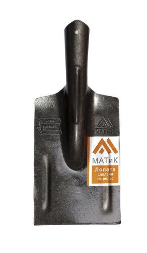 Лопата из рельсовой стали окорочная (ледоруб)