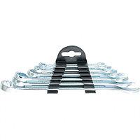 Набор ключей комбинированных, 6 - 17 мм, 6 шт., хромированные, SPARTA