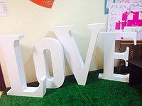 Буквы для свадебной фотосессии